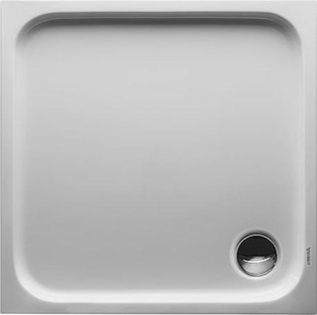 Čtvercové sprchové vaničky