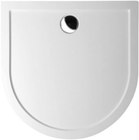 Půlkruhové sprchové vaničky