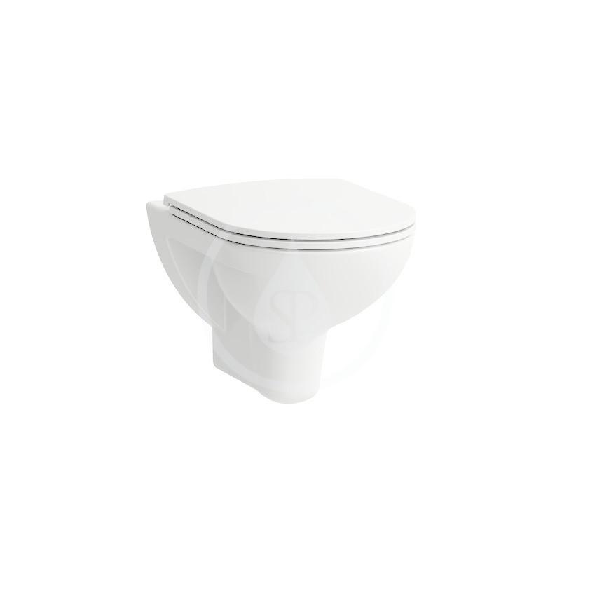 Laufen Pro Závěsné WC, 530x360 mm, Rimless, bílá