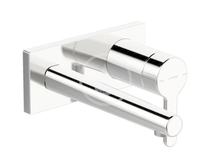 Hansa Designo Umyvadlová baterie pod omítku, 2-otvorová instalace, chrom
