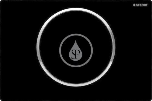 Geberit Sigma10 Ovládací tlačítko SIGMA10, černá/chrom