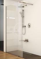 Ravak Walk-In Sprchová stěna Walk-in Wall 90, 900x2000 mm, lesklý hliník/čiré sklo