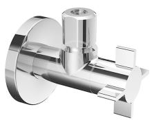 Schell 4Wing Rohový regulační ventil, chrom