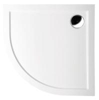 Polysan SERA vanička z litého mramoru, čtvrtkruh 100x100x4cm, R550
