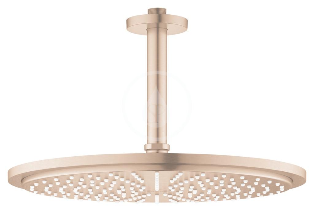 Grohe Rainshower Cosmopolitan Hlavová sprcha 310, sprchové rameno 142 mm, 1 proud, kartáčovaný Warm Sunset