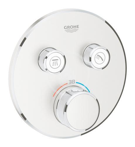 Grohe Grohtherm SmartControl Termostatická sprchová podomítková baterie, 2 ventily, supersteel