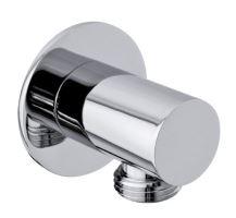 Sapho Vývod sprchy, kulatý, tenká krytka, chrom