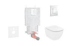 Grohe Uniset Sada pro závěsné WC + klozet a sedátko Ideal Standard Tesi