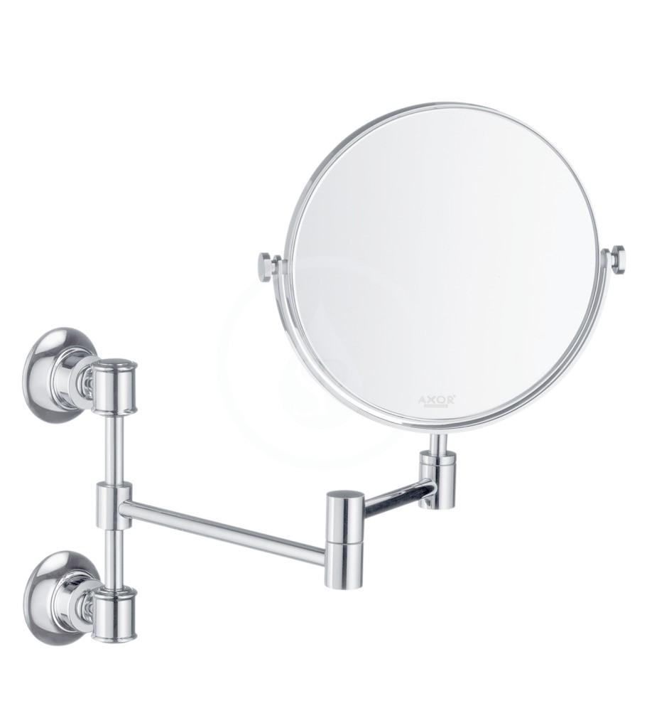 Axor Montreux Vyduté zrcadlo, kartáčovaný nikl