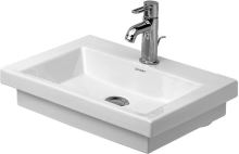 Duravit 2nd floor umývátko 500mm bílá WonderGliss