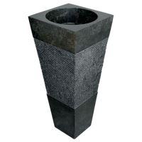 IMSO Lavabo Piramide nero 40 x 40 cm
