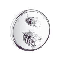 Axor Montreux Termostatická baterie pod omítku s uzavíracím ventilem, chrom