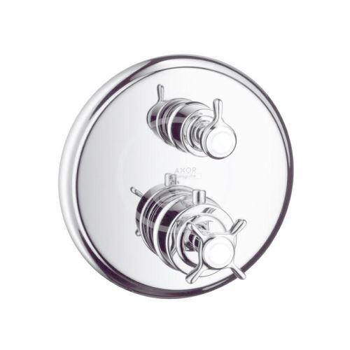 Axor Montreux Termostatická baterie pod omítku s uzavíracím a přepínacím ventilem, chrom
