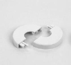 Zehnder krytka plastová bílá - průměr 15 mm