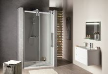 VOLCANO sprchové dveře, čiré sklo