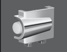 Zehnder Vario připojovací armatura niklovaná 50 mm, krytka chrom