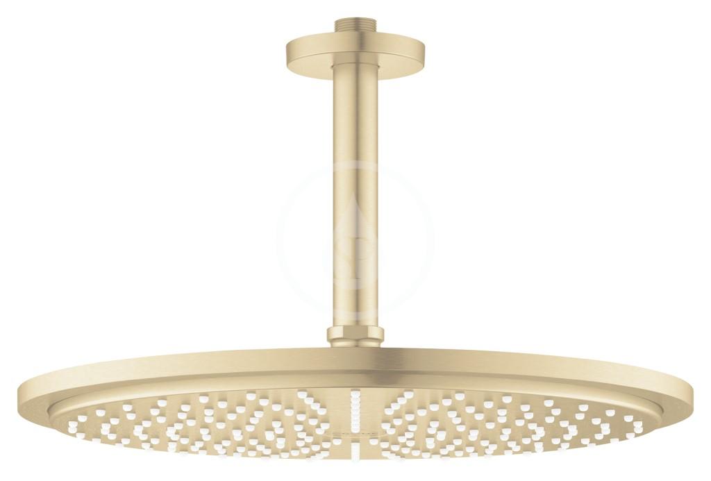 Grohe Rainshower Cosmopolitan Hlavová sprcha 310, sprchové rameno 142 mm, 1 proud, kartáčovaný Cool Sunrise