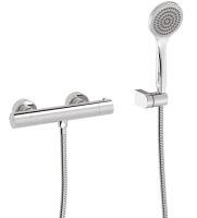 TRES B Termostatická nástěnná sprchová baterie, chrom