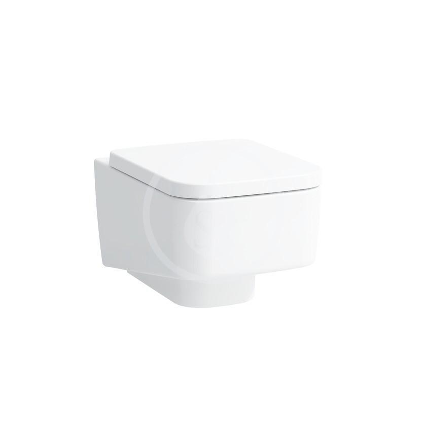 Laufen Pro S Závěsné WC, 530x360 mm, rimless, bílá