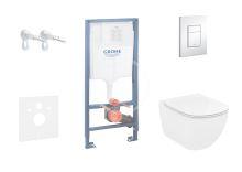 Grohe Rapid SL Sada pro závěsné WC + klozet a sedátko Ideal Standard Tesi