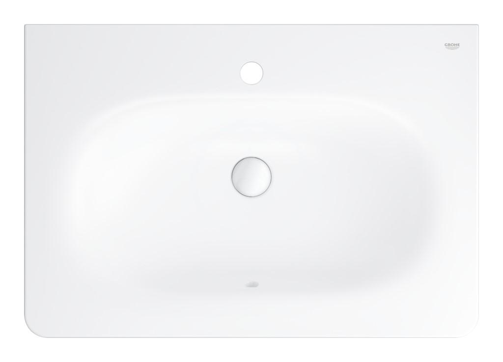 Grohe Essence Umyvadlo s přepadem 700x485 mm, PureGuard, alpská bílá