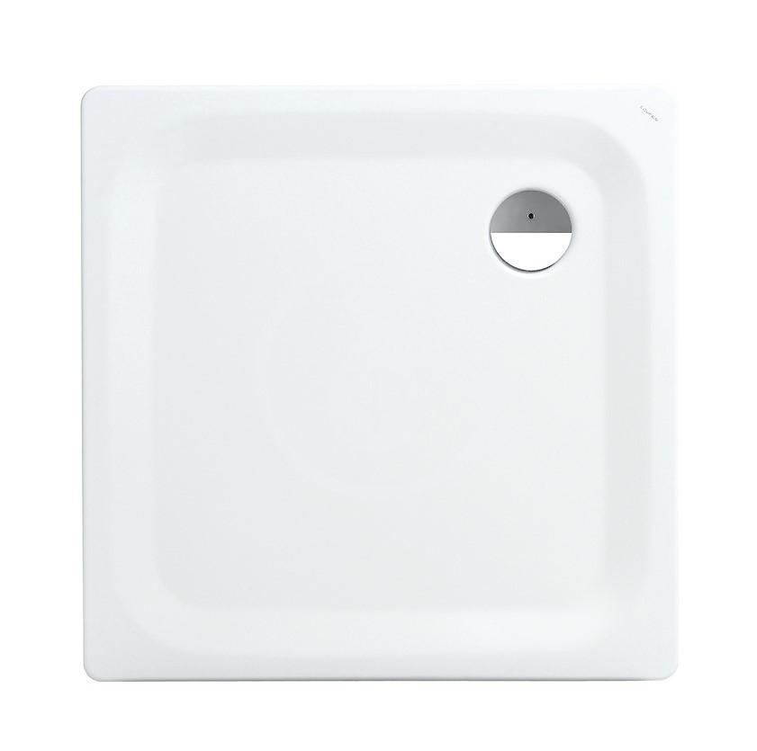 Laufen Platina Sprchová vanička s protihlukovými podložkami, 900x900 mm, antislip, bílá