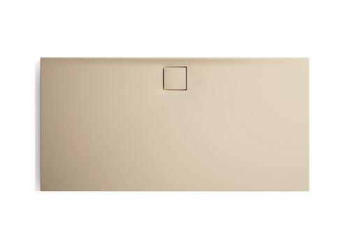 Hüppe EasyFlat sprchová vanička 4-úhelník barva vaničky: béžová matná