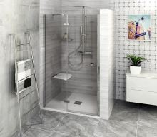 FORTIS LINE sprchové dveře do niky, čiré sklo, levé