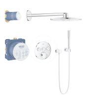 Grohe SmartControl Perfect Sprchový set s baterií pod omítku, 310 mm, chrom