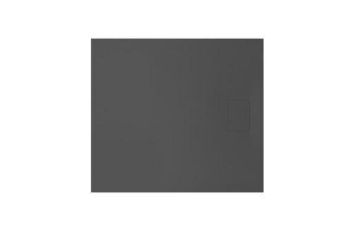 Sprchová vanička Lavano slim 90x80 cm černá
