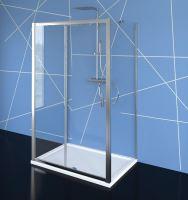 EASY LINE třístěnný sprchový kout 1100x900mm, L/P varianta, čiré sklo