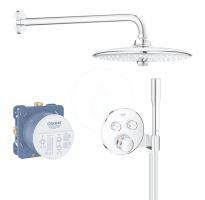 Grohe Grohtherm SmartControl Sprchový set Perfect s podomítkovým termostatem, 260 mm, chrom