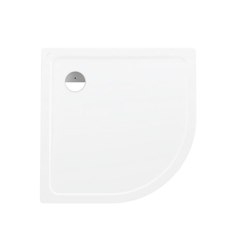 Laufen Platina Sprchová vanička s protihlukovými podložkami, 1000x1000 mm, antislip, bílá