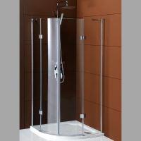 Gelco LEGRO čtvrtkruhová sprchová zástěna dvoukřídlá 1000x1000mm, čiré sklo