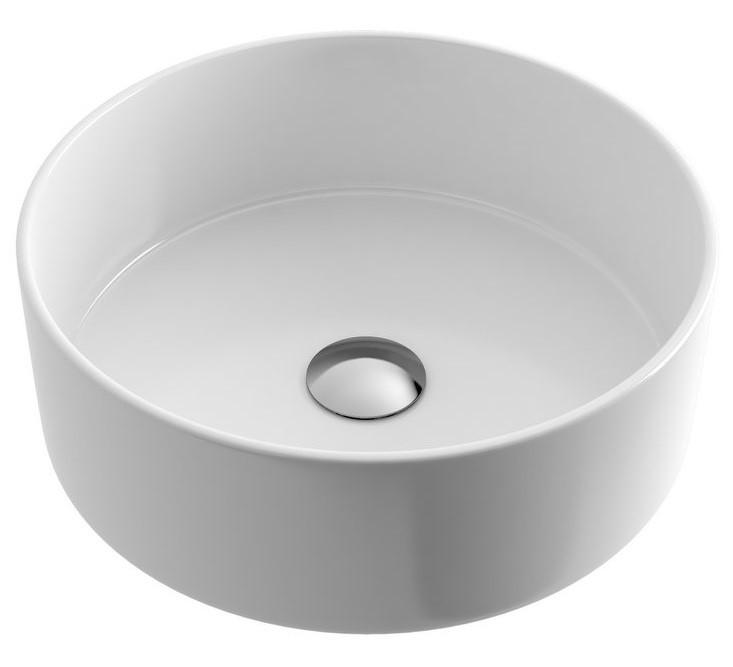 Umyvadlo na desku OVIA 37 cm bílé