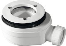 GELCO vaničkový sifon, průměr otvoru 90 mm, DN40, nízký, pro vaničky s krytem