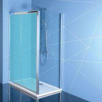 Polysan EASY LINE boční stěna 800mm, čiré sklo