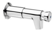 Silfra QUIK samouzavírací prodloužený nástěnný ventil pro umyvadlo, chrom