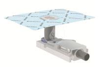 Geberit Příslušenství Sprchová podlahová vpusť, pro výšku mazaniny u vtoku 90-220 mm