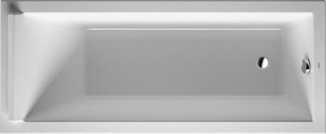 Duravit Starck vana 1700x700mm bílá