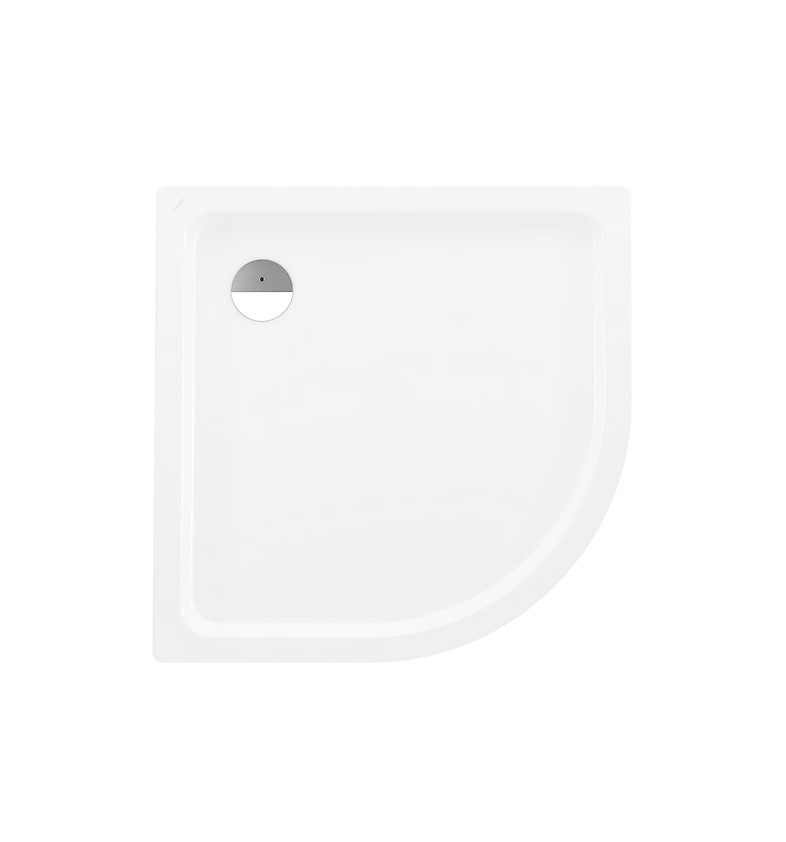 Laufen Platina Sprchová vanička s protihlukovými podložkami, 1000x1000 mm, bílá
