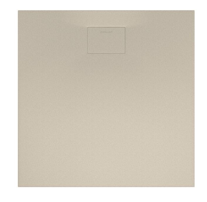 Sprchová vanička Lavano čtvercová cappucino 90 x 90 cm