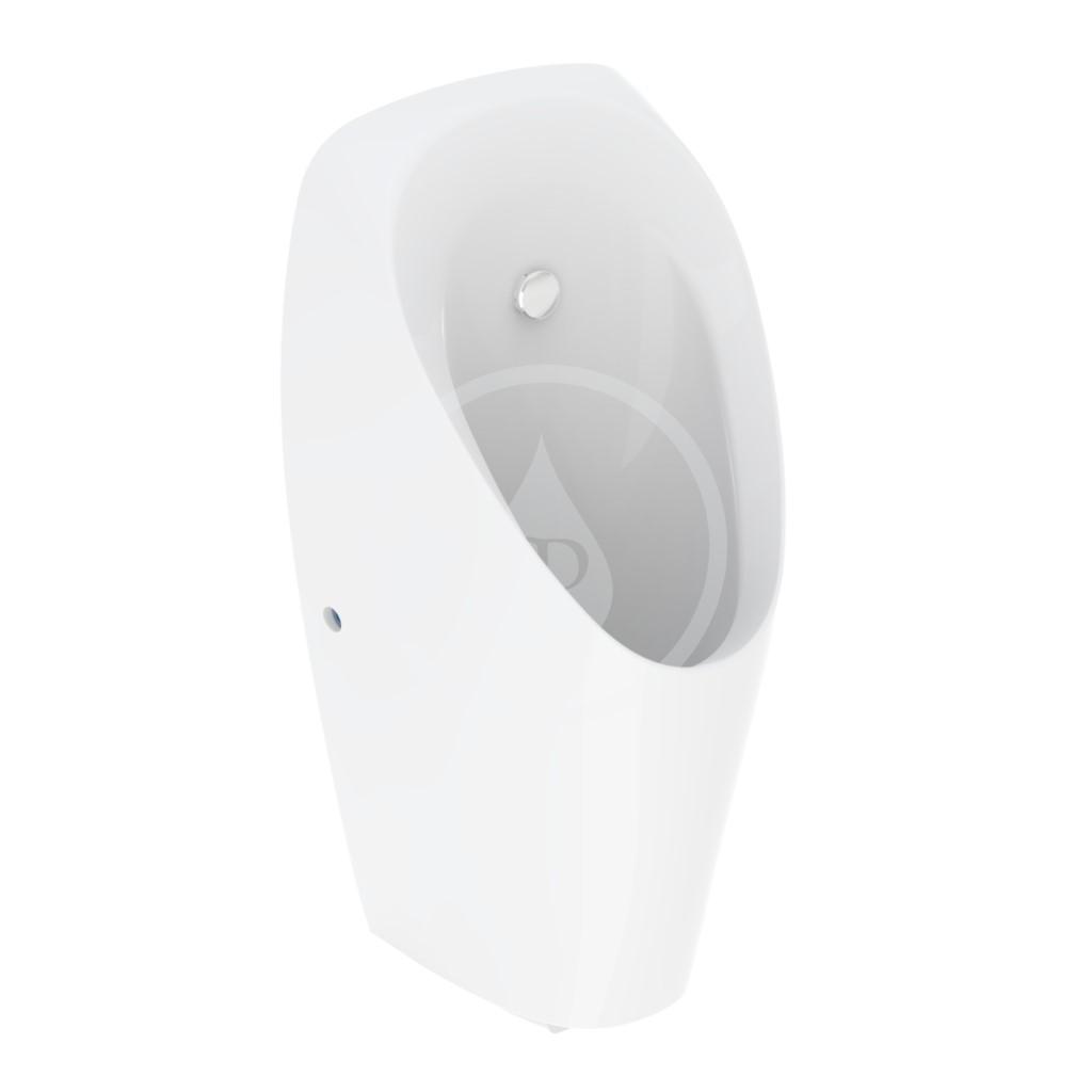 Geberit Pisoáry Pisoár Tamina, pro integrované ovládání, napájení z generátoru, bílý