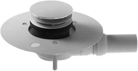 Duravit DuraPlan sifon pro sprchové vaničky odpad vodorovný