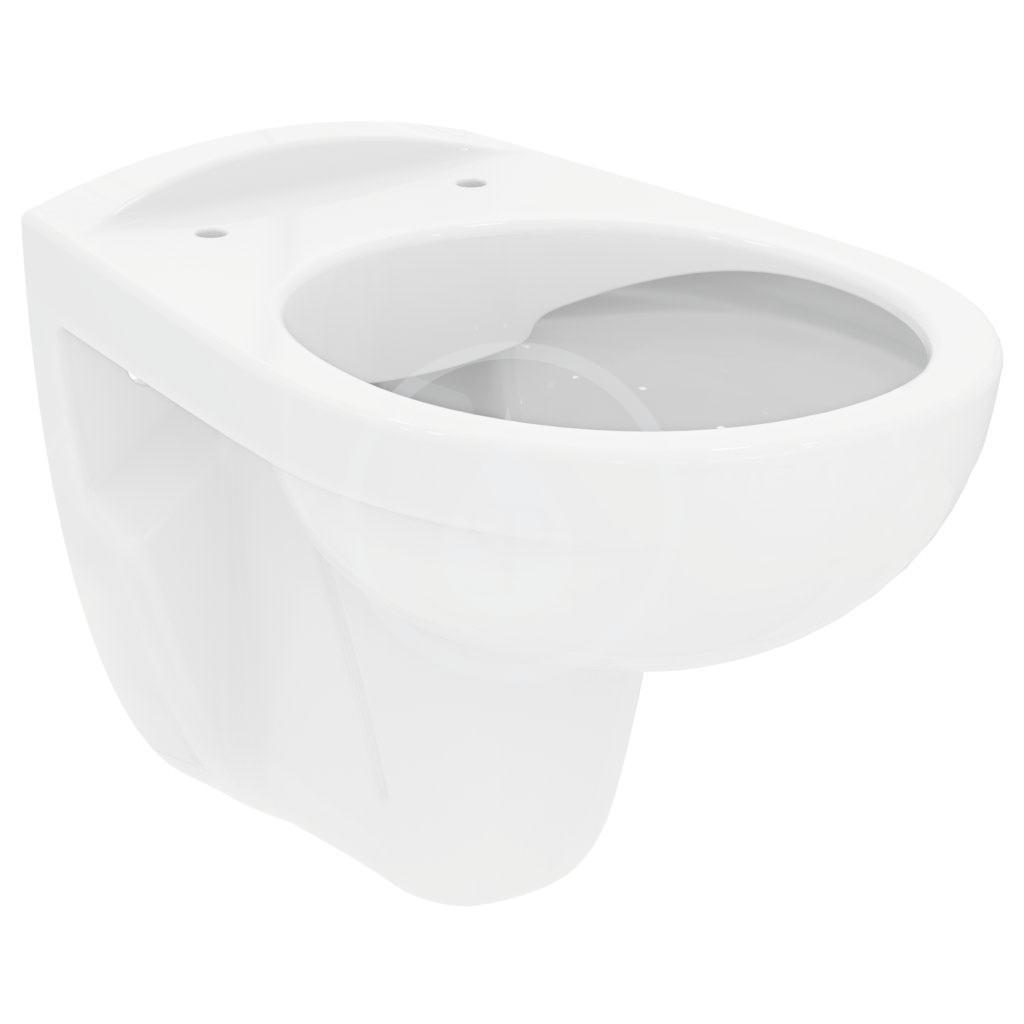 Ideal Standard Eurovit Závěsné WC, rimless, bílá