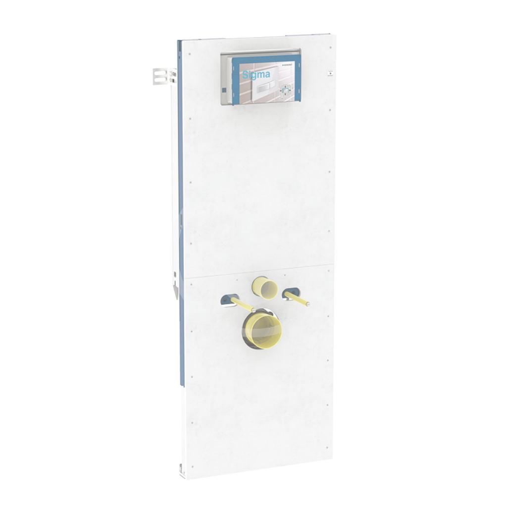 Geberit Duofix Montážní prvek pro závěsné WC, 112 cm, se splachovací nádržkou pod omítku Sigma 12 cm