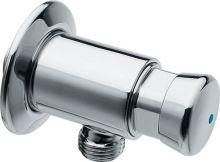 Silfra QUIK samouzavírací nástěnný sprchový ventil, chrom