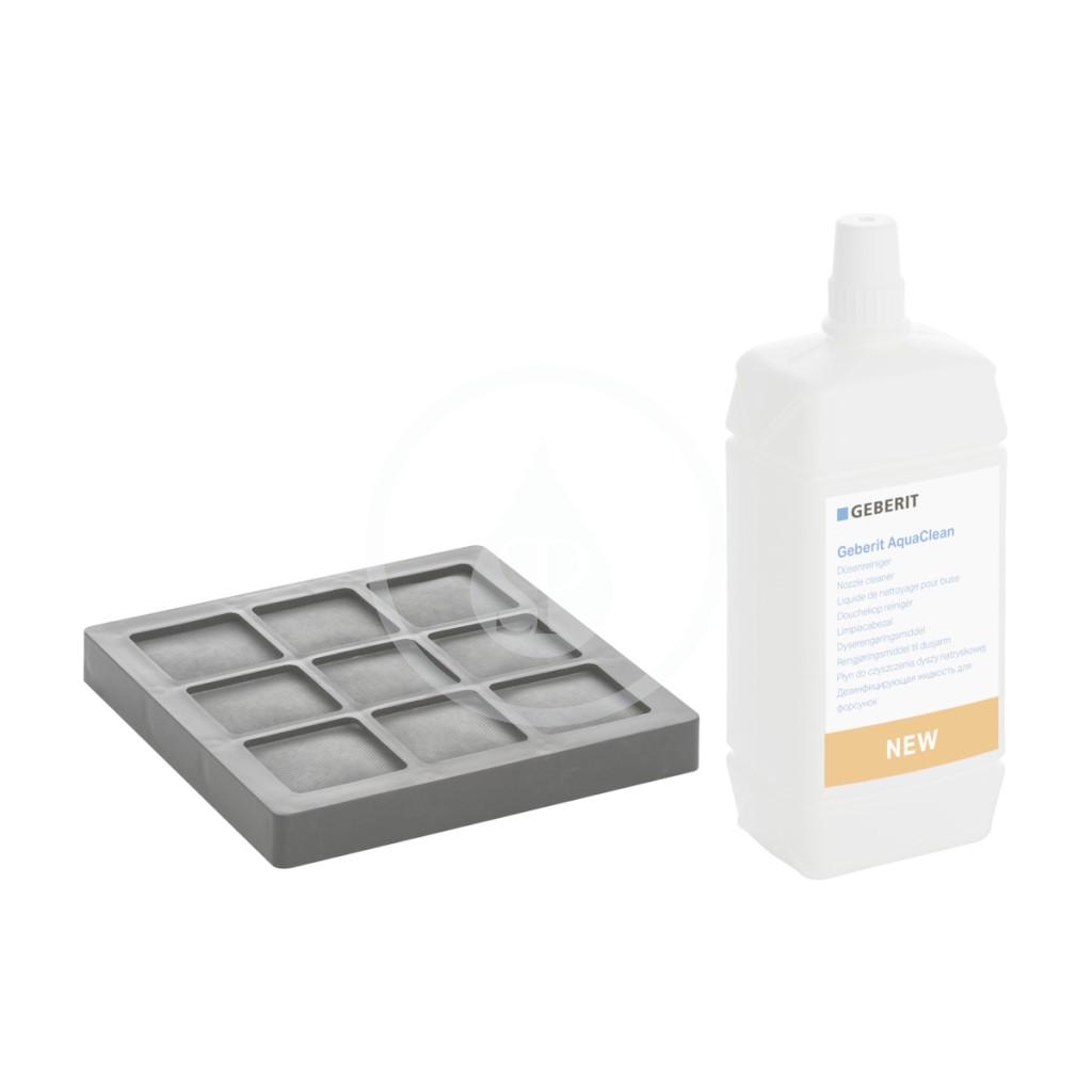 Geberit AquaClean Sada uhlíkového filtru a čisticího prostředku