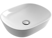 Umyvadlo na desku JIMA 46,5x37,5 cm bílé