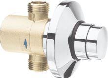 Silfra QUIK samouzavírací podomítkový sprchový ventil, chrom